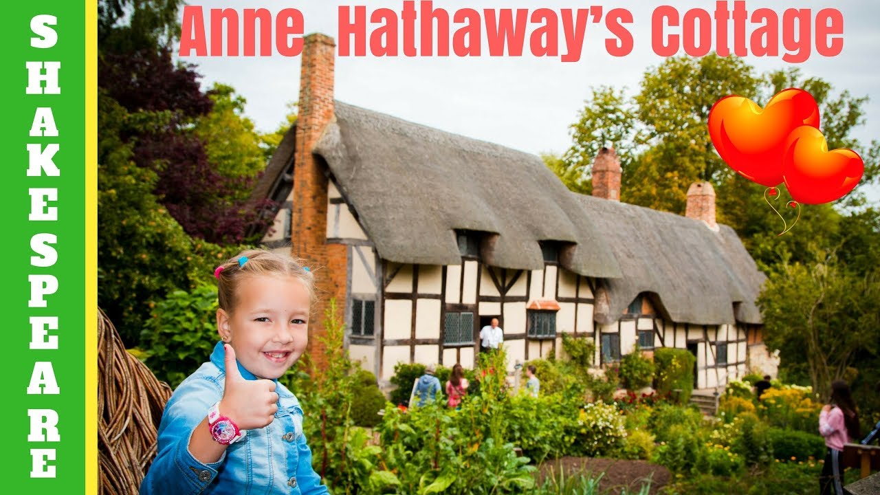 Anne Hathaway's Cottage - house where Shakespeare's wife ...