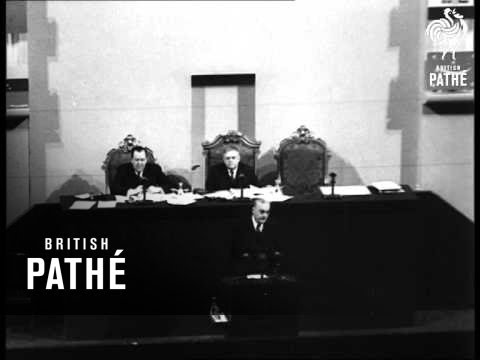 Protest At UN Meeting (1948)