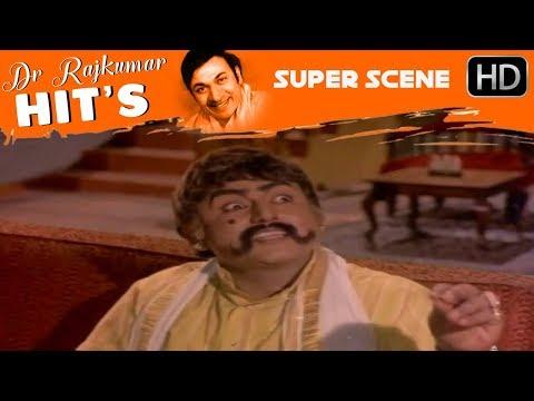 Manjula, Balkrishna And Vajramuni Comedy Scenes | Sampathige Saval - Old Kannada Movie | Scene 08