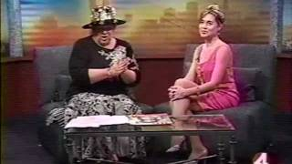 Sandra Michaan with Jan Wahl on KRON 4 - Talking Film & Fashion Thumbnail