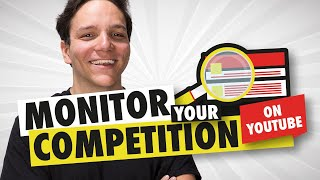 Monitor your YouTube Competition with TubeBuddy Competitor Alerts