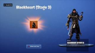 """NEW"" UNLOCKING BLACK HEART (STAGE 3) on Fortnite Battle Royale Season 8"