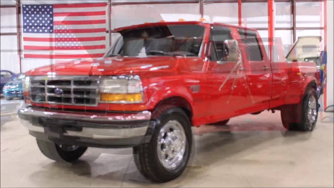 1996 ford f-350 crew cab configurations