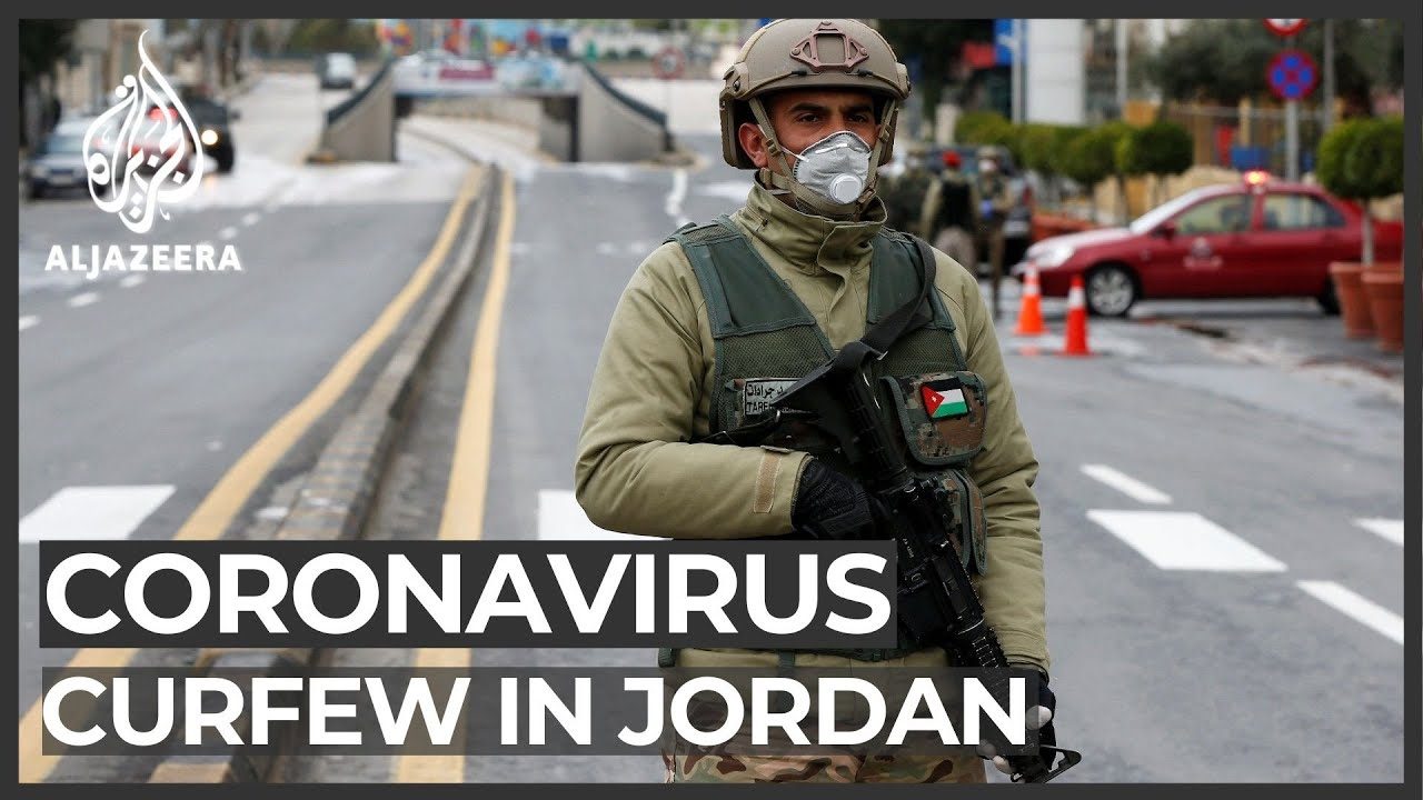 Round-the-clock curfew in Jordan to battle coronavirus outbreak
