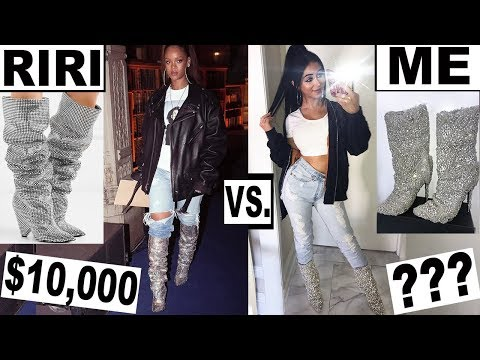 MAKING RIHANNA'S CLOTHES *for cheap!*