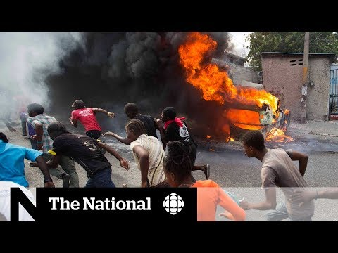Haitian anti-corruption protests strand Canadians, causes food shortages