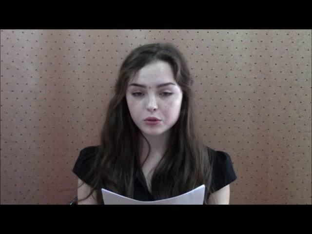 Николь Лозовая читает произведение «Одиночество» (Бунин Иван Алексеевич)