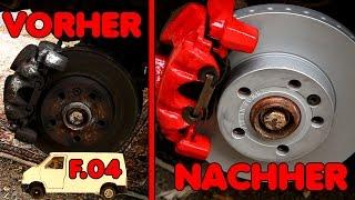 Tuning-Bremsen am T4? | F.04 Von der Schrottkarre zum Camper