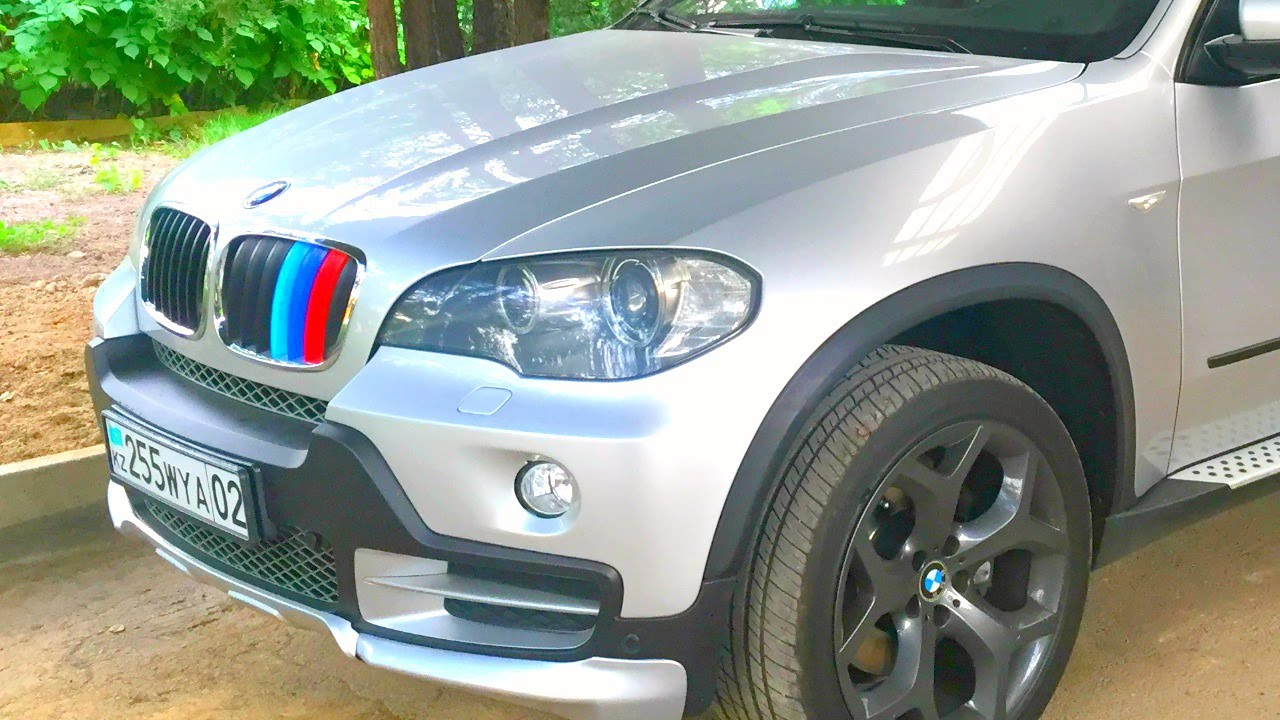 Removing M Performance Stripes From X Grilles YouTube - Bmw grille stripe decals