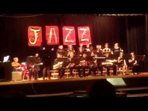 Log College Middle School Jazz. band 4/28/2015