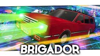 Flying Car with a laser shotgun! - Brigador