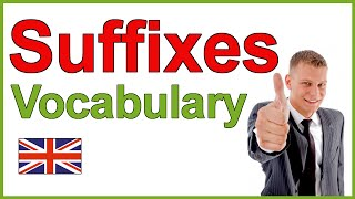 Baixar English Suffixes | Learn English Vocabulary