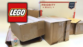 LEGO Mystery Haul and Unboxing - Nearly 10 Old and Rare LEGO Sets!