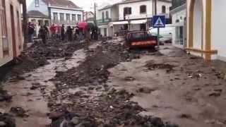 Mau tempo nos Açores : VIDEO