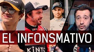 Alonso y la F1, GP de Arabia Saudi, Norris y fechas, Nissany a William