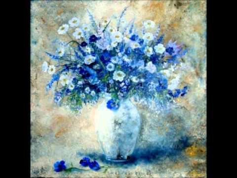 peinture de fleurs à l'huile par différents
