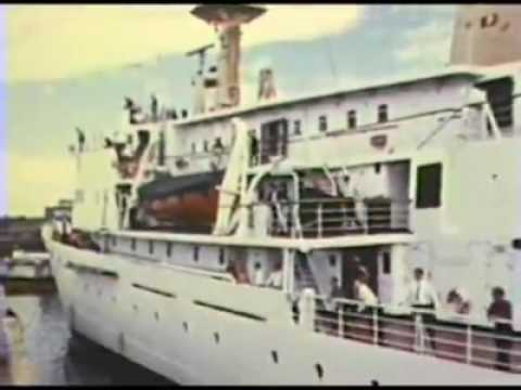 Old vintage footage of the City of Dartmouth, Nova Scotia, circa 1960's