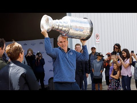 Stanley Cup travels to small-town Alberta