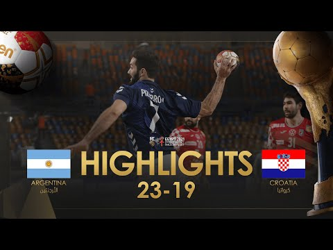 Highlights: Argentina - Croatia | Main Round |27th IHF Men's Handball World Championship | Egypt2021