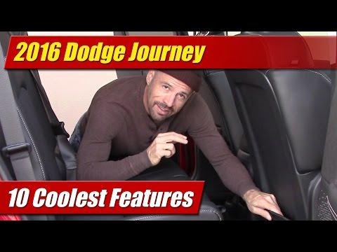 10 Coolest Features: 2016 Dodge Journey