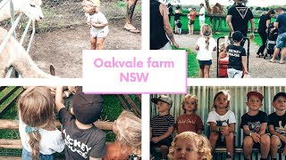 Oakvale farm family trip with friends and lots of kids! // Mel and Nolan