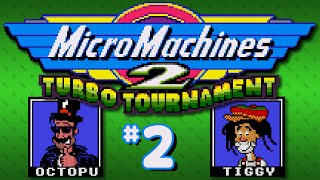 Micro Machines 2: Turbo Tournament (Genesis) - Part 2: Too Tiny - Octotiggy