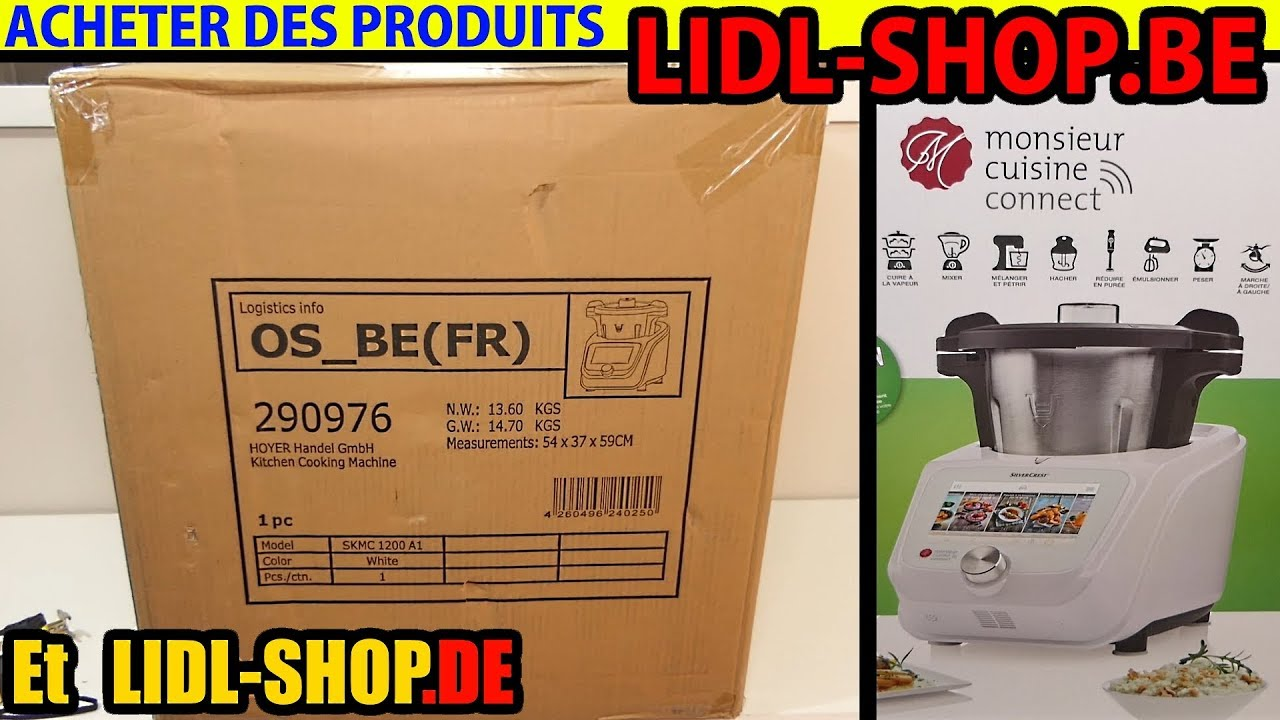 Acheter Sur Lidl Shopbe Belgique Ou Lidl Shopde Allemagne Jai