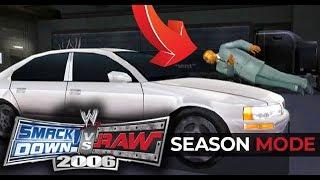WWE Smackdown vs Raw 2006 - HIT & RUN!! (Season Mode Ep 1)