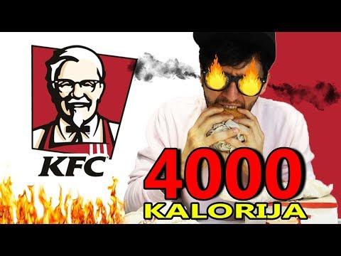 KFC ručak od 4 tisuće kalorija (NAJGORI RUČAK IKAD)