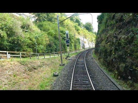 4K Führerstandsmitfahrt Lenzburg - Baden Oberstadt - Zürich HB