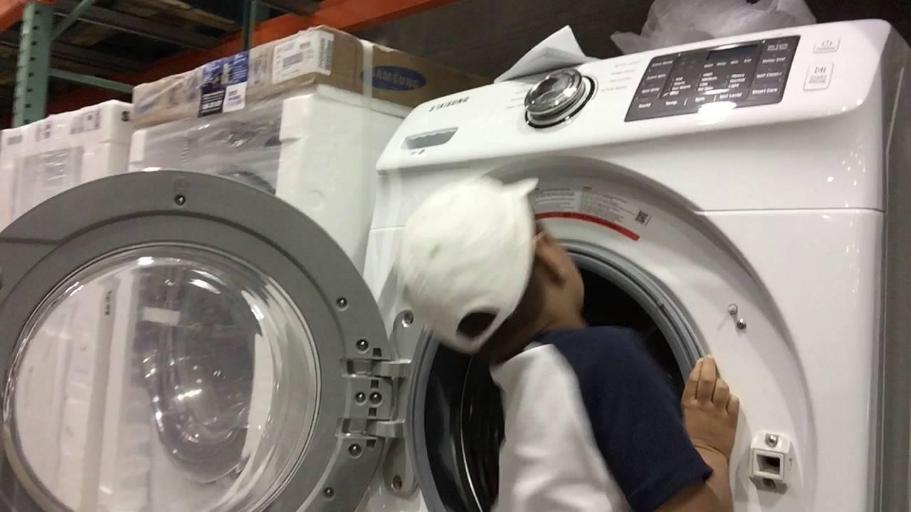 Washing Machine Fun At Costco