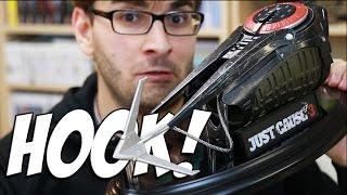 UNBOXING JUST CAUSE 3 - Edição de Colecionador com Grappling Hook!