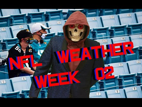 NFL Week 02 Weather Forecast