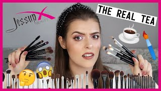 JESSUP BRUSHES!!! Zoeva Dupes?! | Makeup With Meg