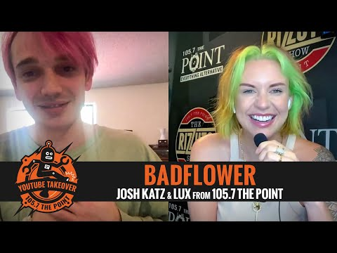 "BADFLOWER's Josh Katz got some new Heelys; talks ""30,"" finding common ground & much more with LUX!"