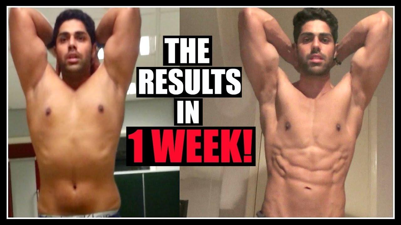 Best way to lose belly fat in a week
