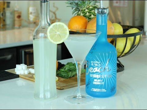 Jake Owen Inspired Cocktail with Beach Whiskey