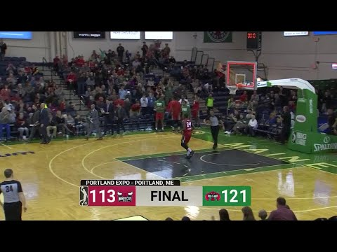 Maine Red Claws vs. Windy City Bulls - Condensed Game