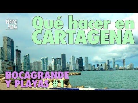 Qué hacer en CARTAGENA, Bocagrande y Playas #1   Pepito Viaja
