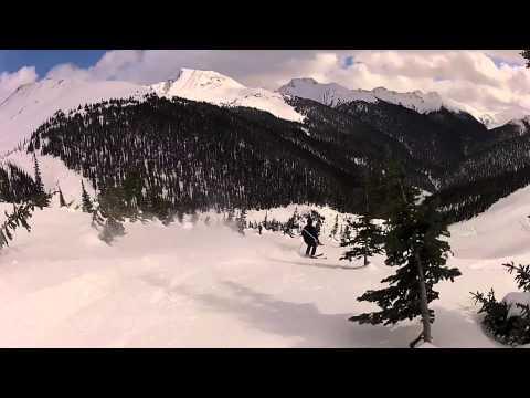 Crescent Spur Heliskiing Tour 13 2012