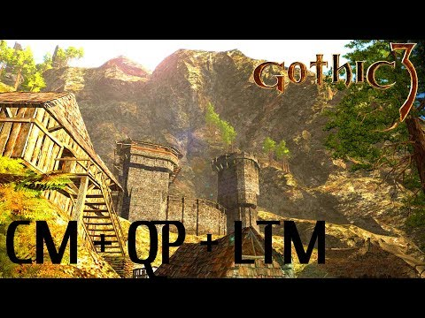 Gothic 3 : CM + QP + LTM : Живые Города, Начало Разведки Кап Дуна