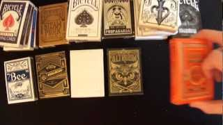 Bicycle playing Cards Top 10 From Thecardists
