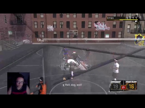DAILY FACECAM STREAM #14- NBA 2K18 STREAKING PARK/STAGE (PS4)