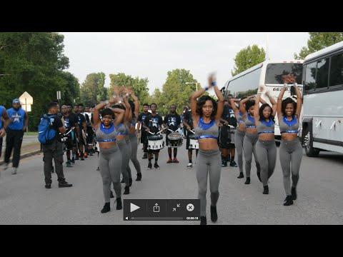Mississippi All-Star Alumni Band v.s. MMB - Entrance - 2015
