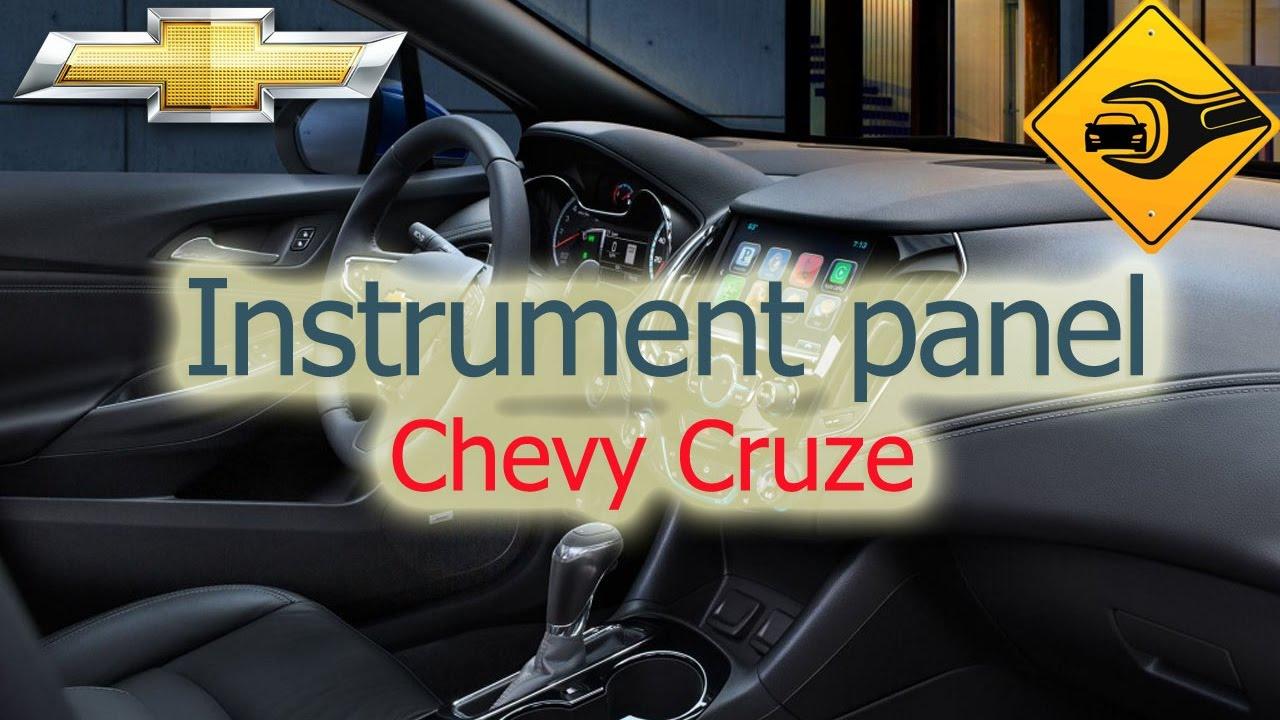 2017 Chevy Cruze >> Chevrolet Cruze | Instrument panel | 🚗🛠 - YouTube