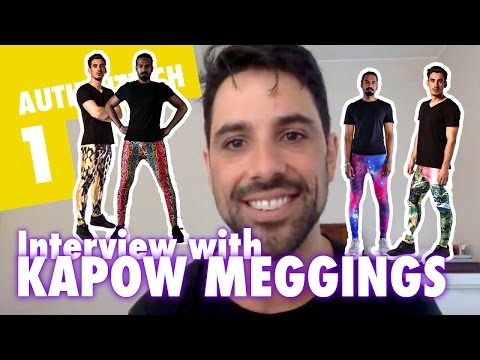 Interview with Jordan from Kapow Meggings