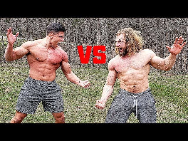 You BLEED You LOSE - Slapping Competition VS Jujimufu | Bodybuilder VS Bodybuilder Slap Contest