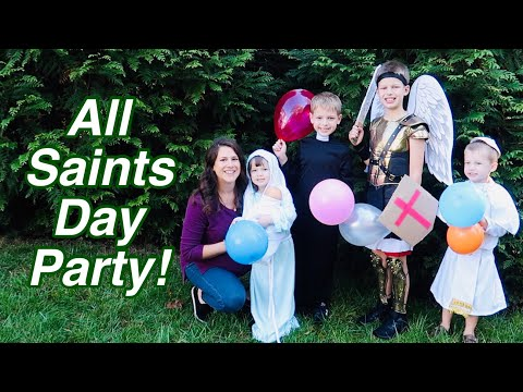 All SAINTS DAY PARTY FOR CHILDREN/FAMILY ~ CATHOLIC MOM