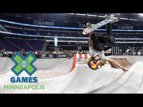 FULL BROADCAST: Women's Skateboard Park Final | X Games Minneapolis 2017