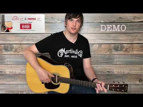 Martin/Fishman Aura VT Enhance Demo